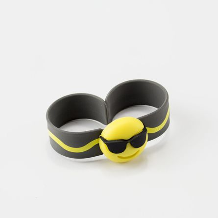 Citronela Emotic Black bracelet