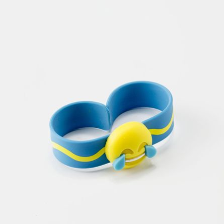 Pulsera Citronela Emotic blau